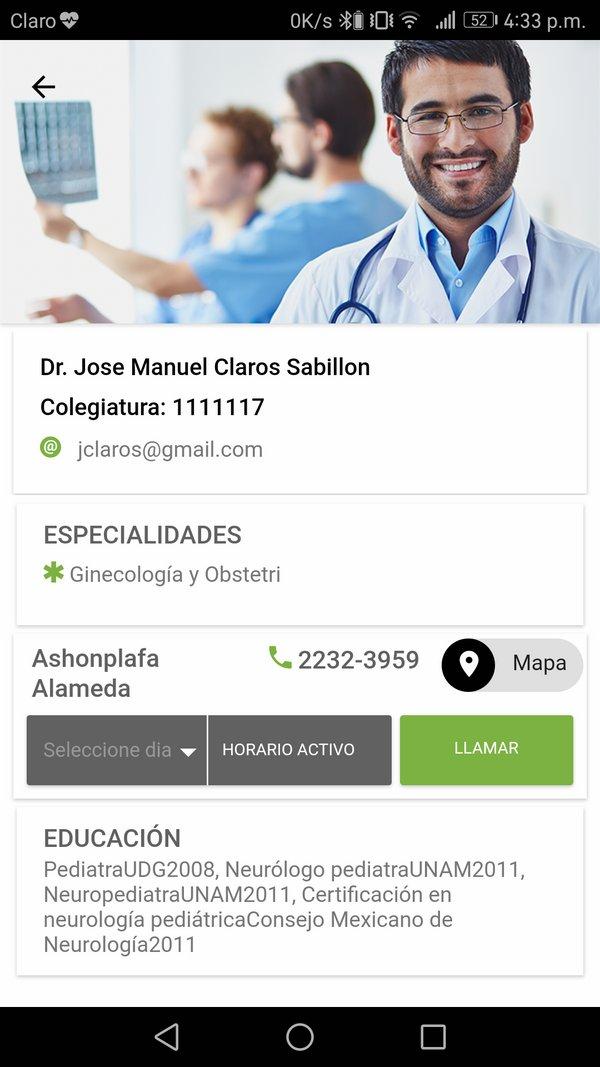 Perfil médico