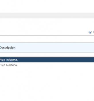Listado de Procesos Go Workflow
